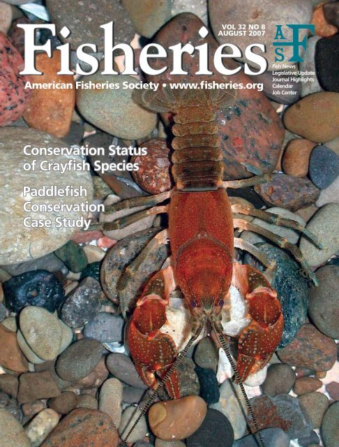 Conservation Status of Crayfish Species Paddlefish Conservation ...