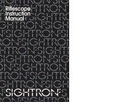 To Download Manual (PDF) - Sightron