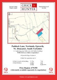 Paddock Lane, Newlands, Epworth, Nr. Doncaster ... - Grice & Hunter