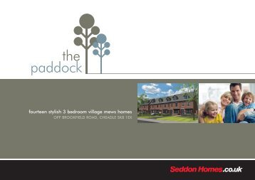 the paddock - Seddon homes