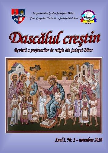 Numarul 1 Dascalul Crestin - Profesor de religie