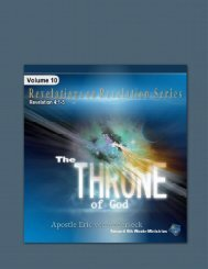 Revelations Chapter 4 - Second 8th Week Ministries