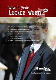 Locker Lock Catalogue - Mayo Hardware
