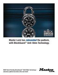 Master Lock 1 3//16 Covered Brass Blue 1-Pack 132DCM