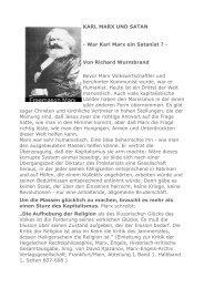 KARL MARX UND SATAN - War Karl Marx ein Satanist ? - Von ...