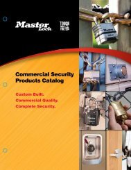 Commercial Security Products Catalog - Dixie Construction Products