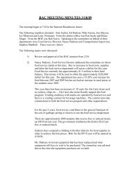 BAC MEETING MINUTES 3/10/09 - Sachem Home Page