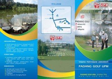 Brosur Padang Golf UPM - Taman Pertanian Universiti - Universiti ...