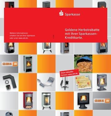 s-Sparkasse Goldene Herbstrabatte mit Ihrer Sparkassen- Kreditkarte.