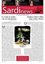 La verità, le analisi e la voce del padrone Studiare a ... - Sardinews