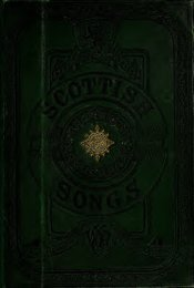 The songs of Scotland prior to Burns. With the tunes