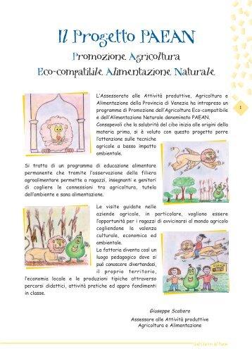 """imp. """"Dal chicco al pane"""" - settore agricoltura - Provincia di Venezia"""