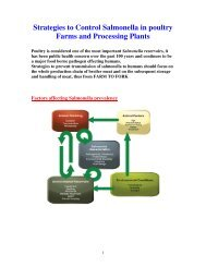 Strategies to Control Salmonella in poultry Farms and ... - cid lines