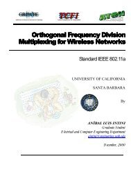 Orthogonal Frequency Division Multiplexing for Wireless Networks ...