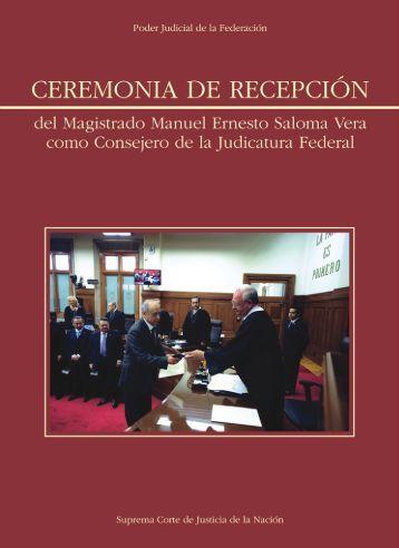 Ceremonia del Consejero Saloma Vera - Suprema Corte de Justicia ...