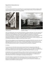 Baugeschichte - Kantonsschule im Lee Winterthur