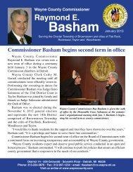 District 14 January newsletter - Wayne County