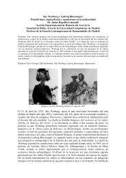 Aby Warburg y Ludwig Binswanger: Primitivismo ... - CES Felipe II