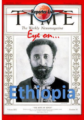 eye on ... ethiopia.pdf - Reporter Viaggi