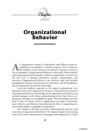 portfolio for organizational behavior Project portfolio management the practitioner's perspective their organization's level of portfolio through project porftolio management the.