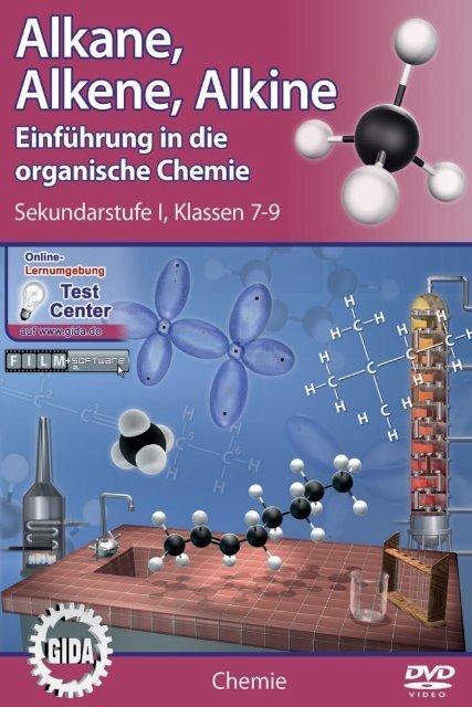 alkane alkene alkine einf hrung in die organische chemie gida. Black Bedroom Furniture Sets. Home Design Ideas