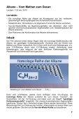 Alkane, Alkene, Alkine - Einführung in die organische Chemie - GIDA - Seite 7
