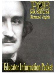 Who is Edgar Allan Poe? - Canton Local Schools