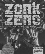 temporary Zork Zero manual - The Infocom Documentation Project