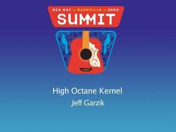 High Octane Kernel - Red Hat People