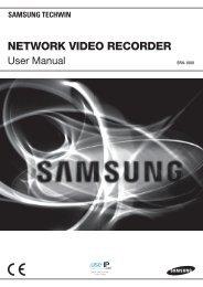 Samsung SRN-1000 Network Video Recorder User Manual - Use-IP