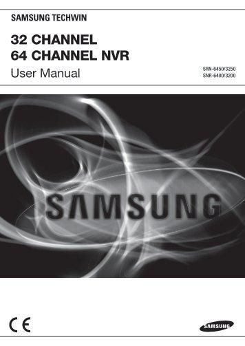 Samsung iPOLiS SRN-3250 User Manual - Use-IP