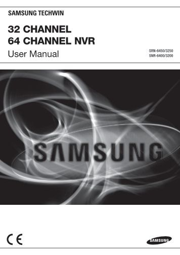 Samsung iPOLiS SRN-3250 User Manual - Use-IP