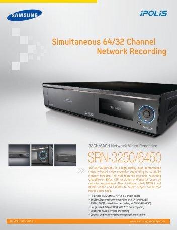 SRN-3250/6450 - Samsung