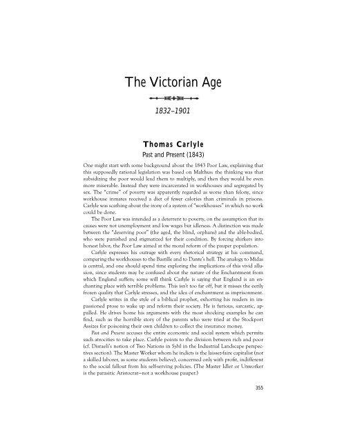The Victorian Age - Pearson