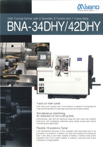 BNA-42DHY pdf - Concentric Corporation