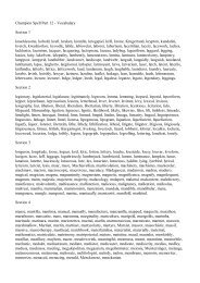 Champion Spelling List 12 - Spelling School