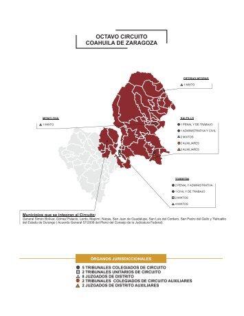 OCTAVO CIRCUITO COAHUILA DE ZARAGOZA - Dirección ...
