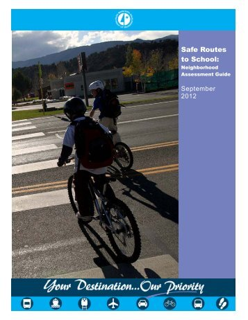 Safe Routes to School: - Minnesota Department of Transportation