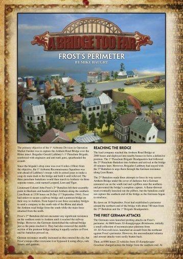 Frost's Perimeter - Flames of War