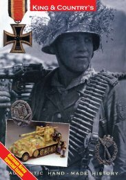 German Army Special Issue - King and Country UK
