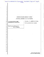 Case 2:11-cv-00929-GAF -SS Document 99-1 Filed 08/06/12 ... - GCG