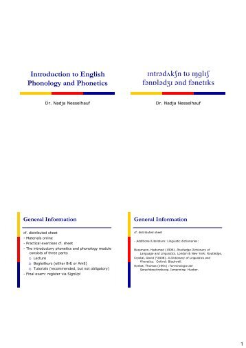 Phonetics Nesselhauf Part I.pdf