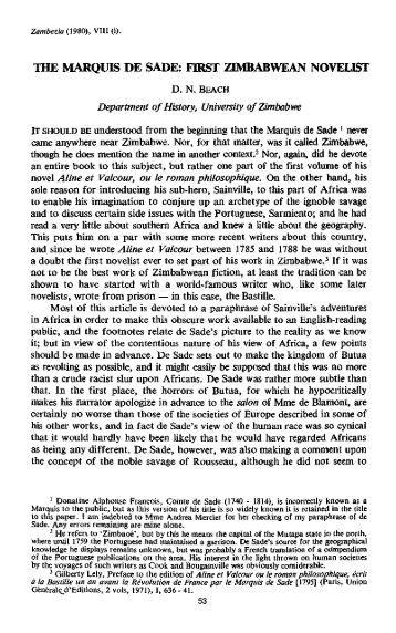 THE MARQUIS DE SADE  FIRST ZIMBABWEAN NOVELIST. Marquis de Sade Philosophy in the Bedroom   The Easy Way to Write