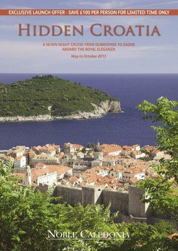 Hidden Croatia - Noble Caledonia