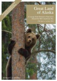 Great Land of Alaska - Noble Caledonia