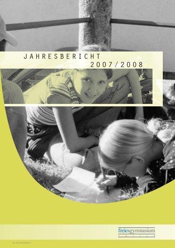 Stand 01.10.2008 - Freies Gymnasium Zürich