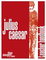 Julius Caesar • 2013 - Chicago Shakespeare Theater