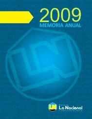 Memoria ALNAP 2009 - Asociación La Nacional de Ahorros y ...