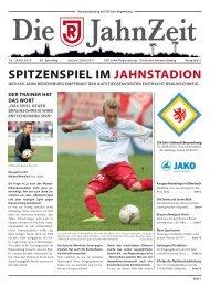 SPITZENSPIEL IM JAHNSTADION - SSV Jahn Regensburg