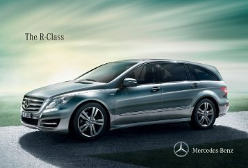 The R-Class - Mercedes-Benz Norge
